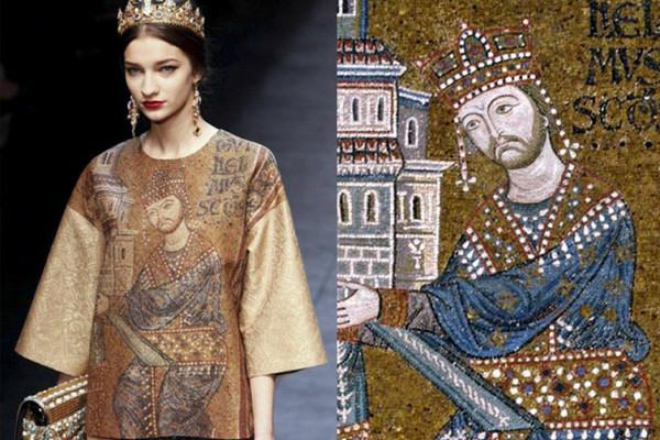 拜占庭崇拜的Dolce & Gabbana