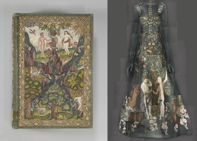 融入宗教绘画的礼服