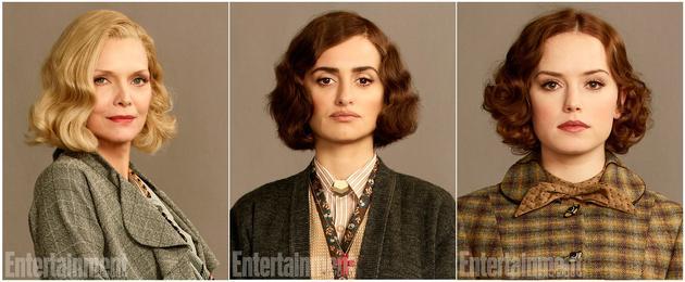 影片中的三位关键女性人物