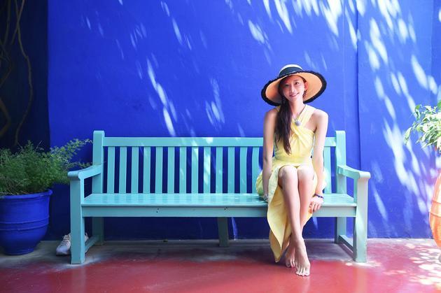 林志玲的度假大片