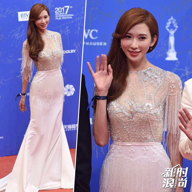 林志玲北京电影节红毯造型