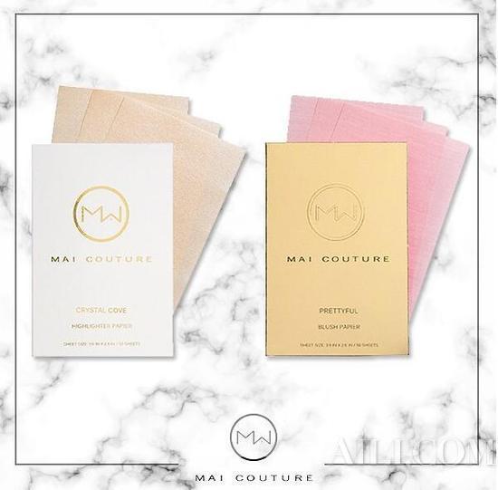 上学的时候每个女生包里总会带上一盒吸油纸,Mai Couture以吸油纸为灵感。