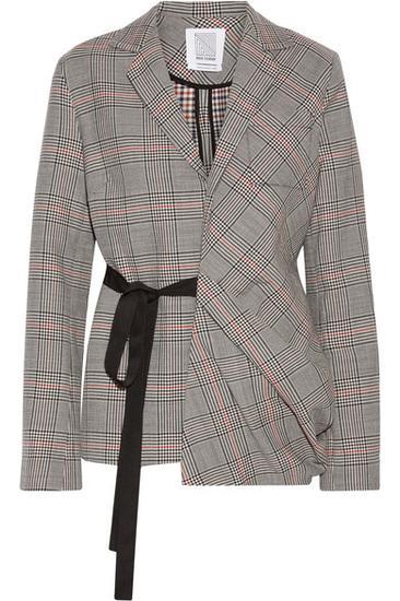 Rosie Assoulin 方格羊毛夹克 约¥18044