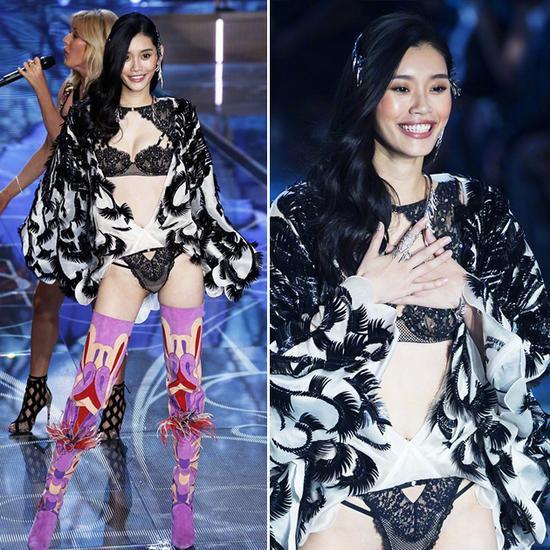 而到了2015年,奚梦瑶则有了2套look亮相