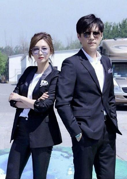 《恋爱先生》的江疏影和靳东