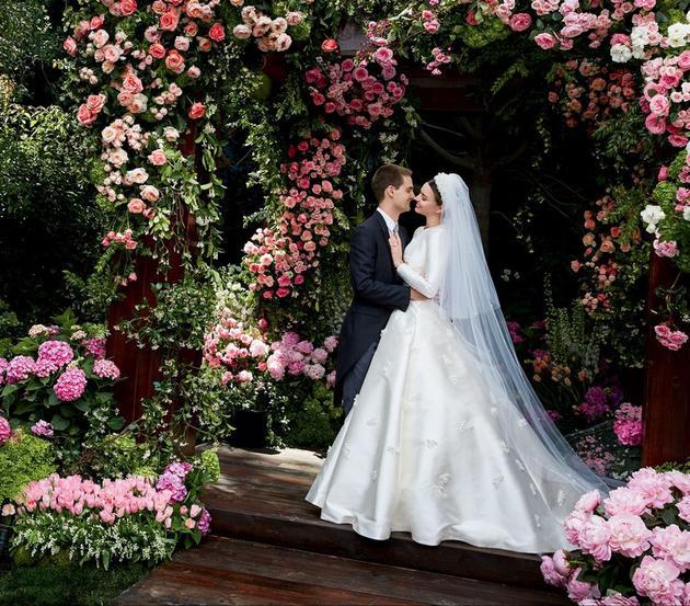米兰达可儿婚纱照