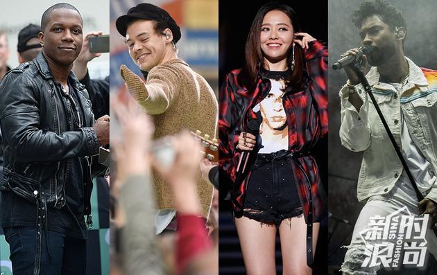 2017维密大秀表演嘉宾:Harry Styles、Miguel、Leslie Odom Jr.以及张靓颖