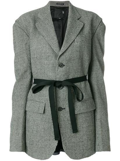 R13 千鸟格西装夹克 约¥12,241