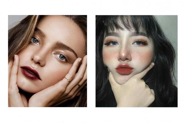 Style1:红唇+高光
