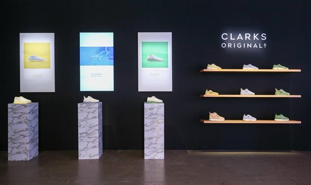 Clarks ORIGINALS 2019春夏玩出色系列展区