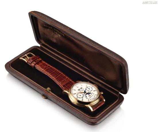 亚洲拍卖史最贵腕表百达翡丽Ref.2499