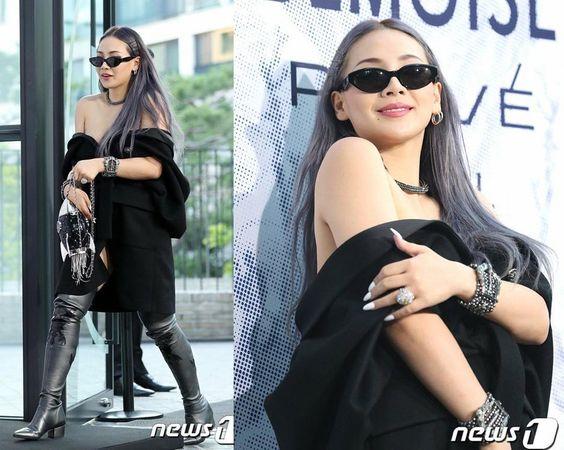 CL亮相Chanel