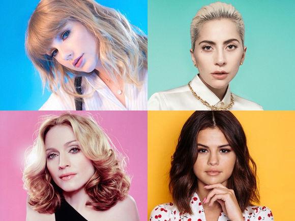2014-2017年Billboard年度女性