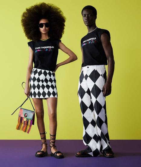 非洲传统艺术勾勒法式风情KARL LAGERFELD × KENNETH IZE限量联名胶囊系列发布