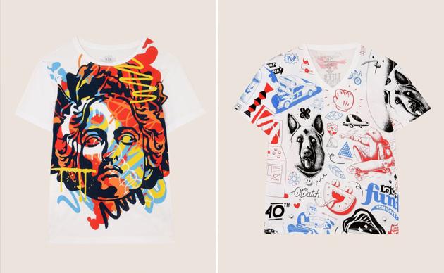 Armani Exchange全新Street Art胶囊系列T恤