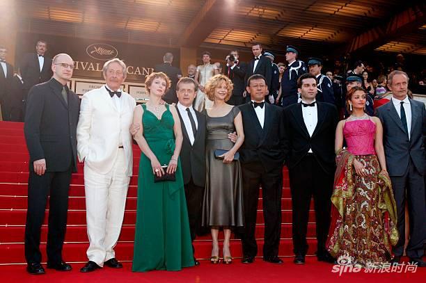 第56屆戛納電影節評審團,薑文是其中一員