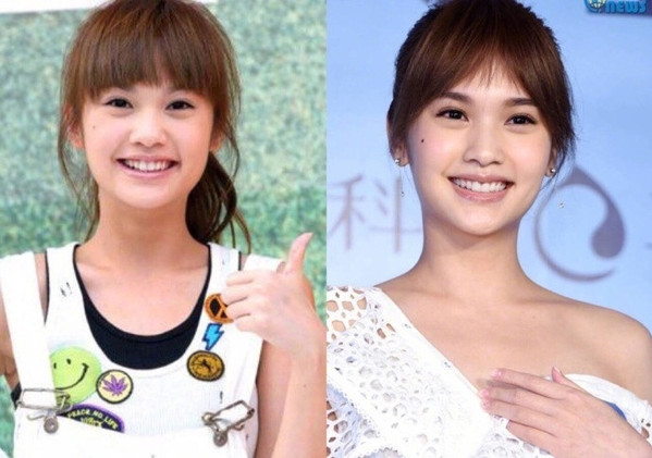 杨丞琳七年前后对比照