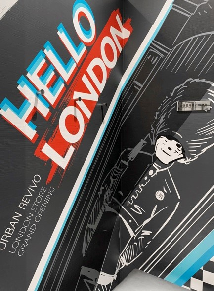「HELLO LONDON伦敦试衣间」登陆7城9店引爆社交话题