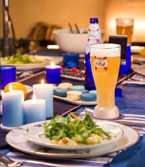 1664法蓝晚宴 在精致晚餐中品味法式生活