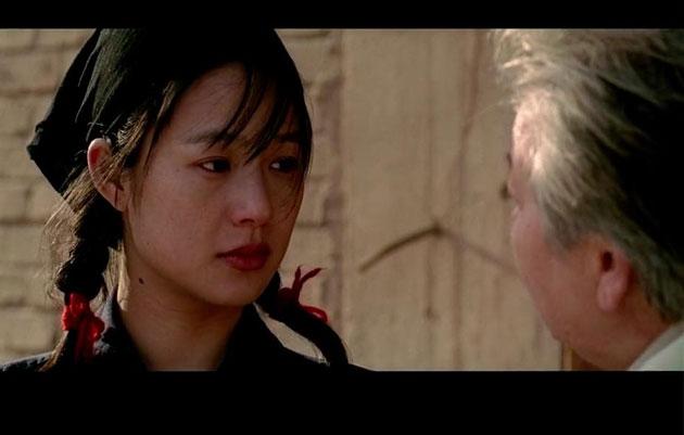 姜文御用女主角周韵在《太阳照常升起》中