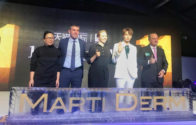 左起:李文瑞女士、Mr.Diego Mengod Martinez、Ms.Raphaela Maria Koefeler 、林彦俊先生、Mr. Sergio Pérez Saiz
