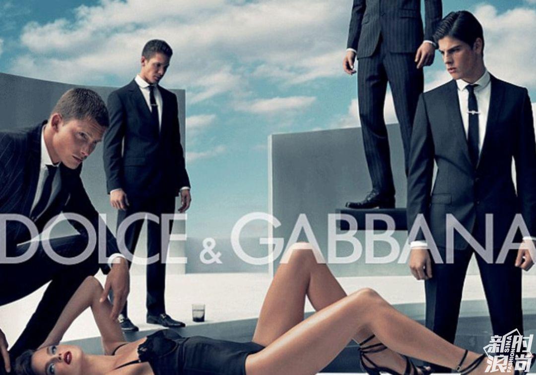 2007年,品牌D&G 广告大片