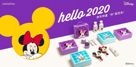 韩国自然主义品牌悦诗风吟迪士尼系列限量版全新上市