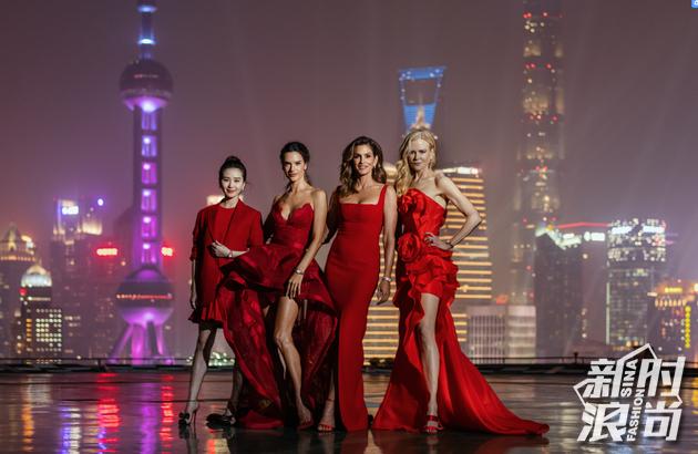 欧米茄星座之夜 四位名人大使齐聚上海