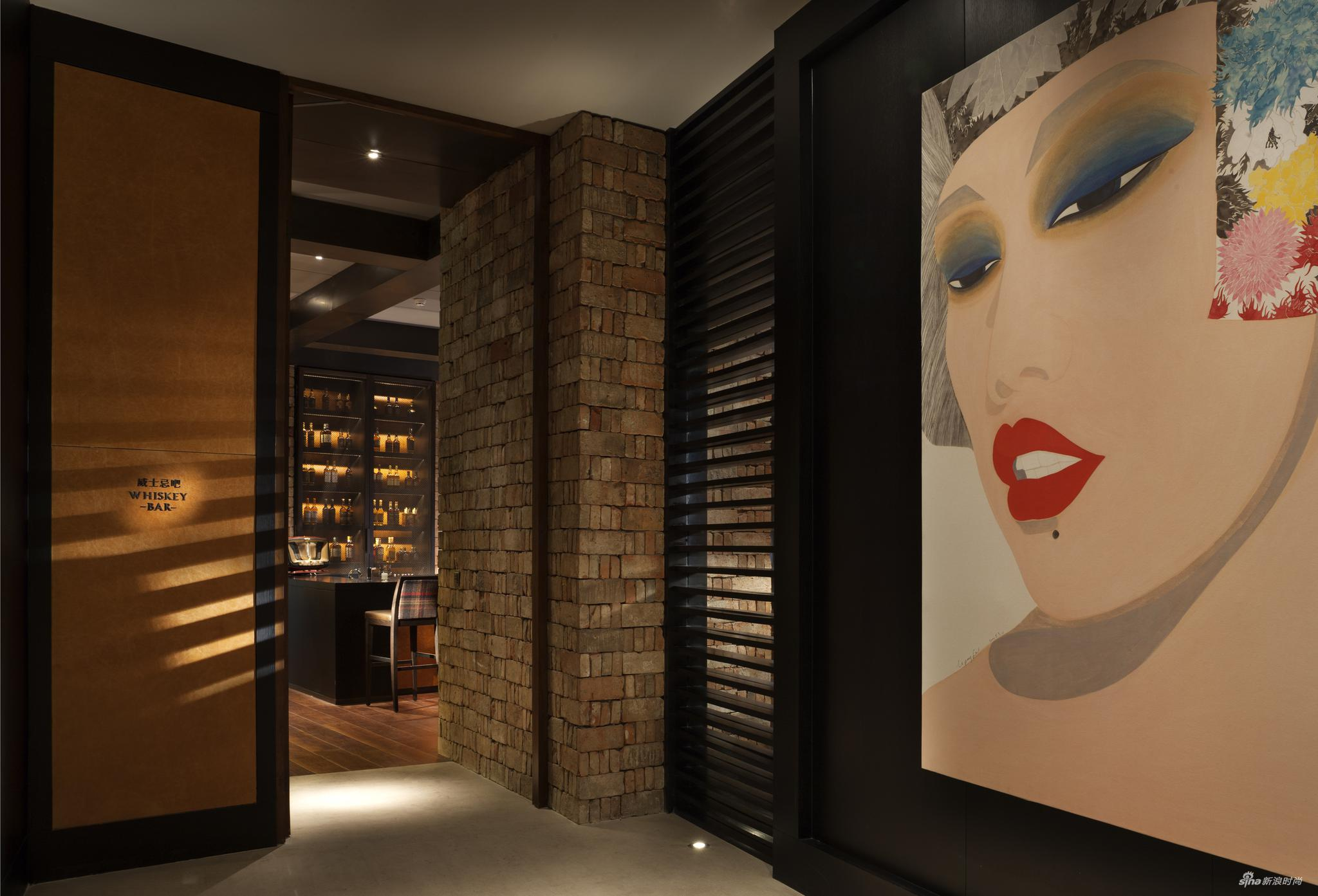 Rosewood Beijing_MEI_Whisky Bar Entrance