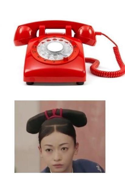 璎珞 电话头