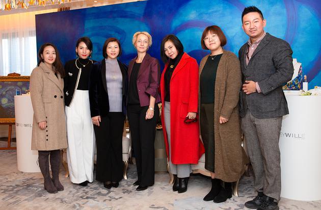 媒体与FREYWILLE亚太区总监Christine Dengg女士和中国区总经理胡晓星女士