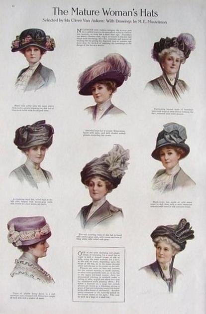帽子在欧洲是身份和地位的象征