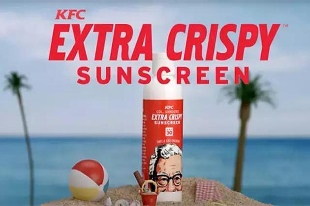 肯德基Extra Crispy Sunscreen 防晒霜