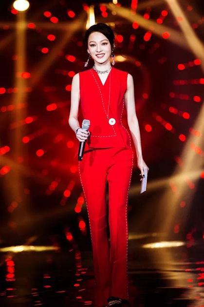 张韶涵参加《歌手》节目现场