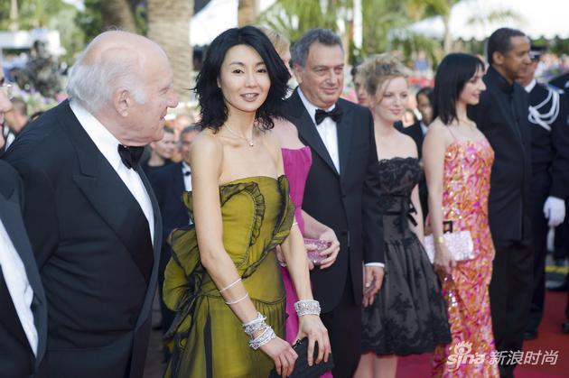 2007年,張曼玉受邀成為戛納電影節評審