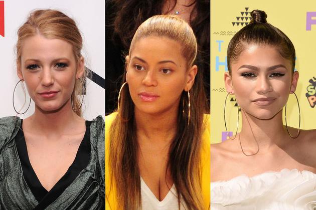 明星演绎左起:Blake Lively、碧昂丝、Zendaya