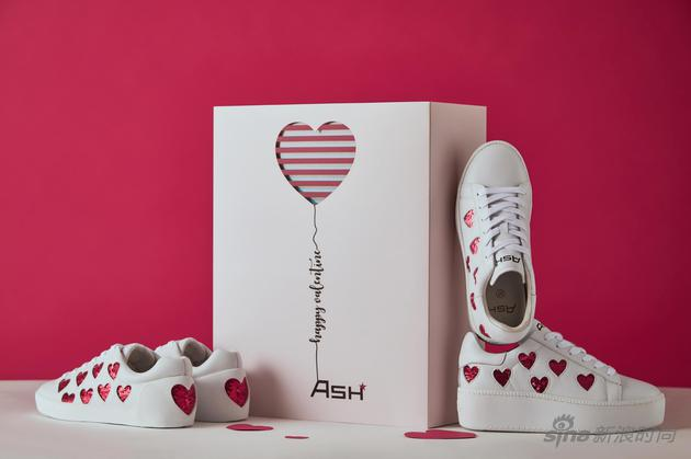 ASH #ThisisLove# 爱心小白鞋系列