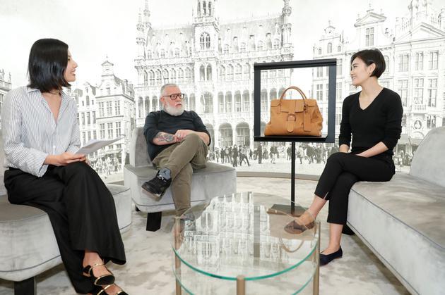 设计师Jean Colonna与艺术家Juju Wang,时尚博主Lulu交流L'XXL手袋的设计心得