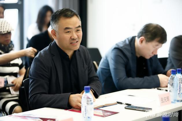 中国服装设计师协会主席 张庆辉