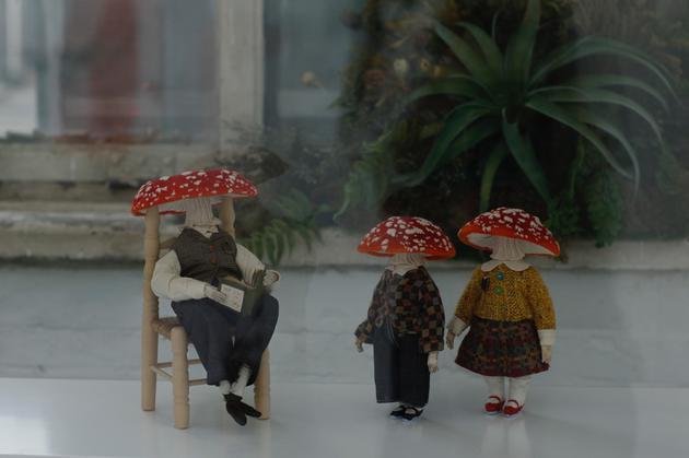殷越《蘑菇的诗》