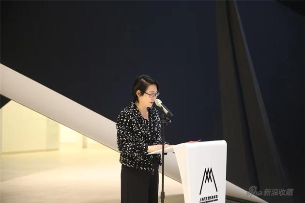 上海民生现代美术馆馆长 甘智漪 致辞