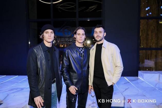 国际时尚红人Andrea Faccio、Paolo Faccio、Manuel Otgianu