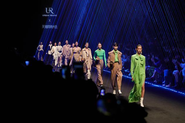 X面体 URBAN REVIVO全新产品系列闪耀上海时装周