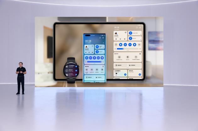 """华为发布多款搭载HarmonyOS 2的新产品,""""百""""款设备启动升级"""