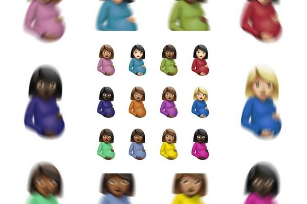 Drake公开由Damien Hirst设计的专辑封面,12个怀孕女性emoji