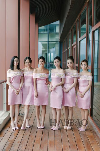 陈乔恩、钟欣潼、胡冰卿率领的陈妍希大婚伴娘团