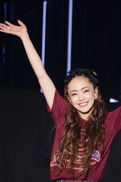 安室奈美惠在台北小巨蛋举办封麦巡演《namie amuro Final Tour 2018 ~Finally~ in Asia》