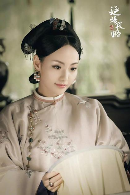 张嘉倪饰演的顺嫔
