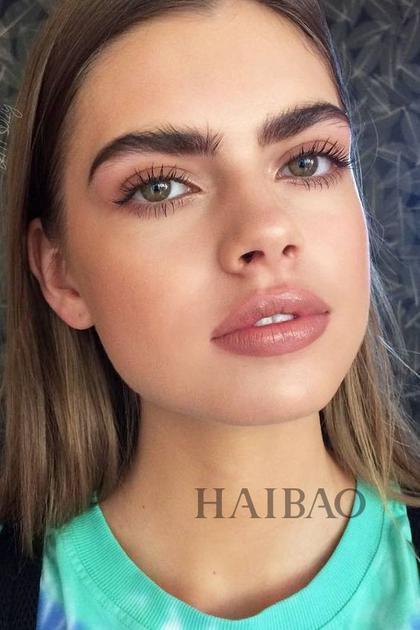该画直还是画弯? 2019年流行的眉毛现在就告诉你-护肤美容