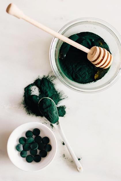 螺旋藻粉+麦卢卡蜂蜜